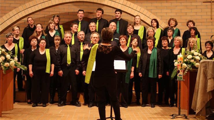 Der Gospelchor Spirit of Hope ist immer gern gehörter musikalischer Gast in der reformierten Kirche in Nussbaumen.san