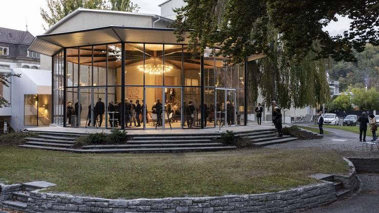 Das Kurtheater in Baden wude am Dienstag nach dem Umbau wiedereröffnet.