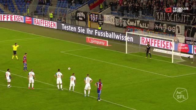 Super League, 2017/18, 4. Runde, FC Basel - GC Zürich, 3:0 van Wolfswinkel