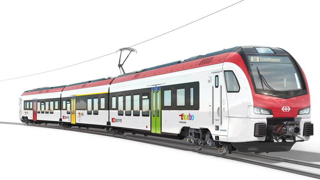 500 Züge: Milliardenauftrag der SBB geht an Stadler Rail