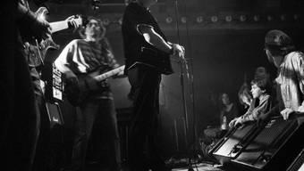 Der Mundart-Rocker Polo Hofer 1991 in der Mühle Hunziken