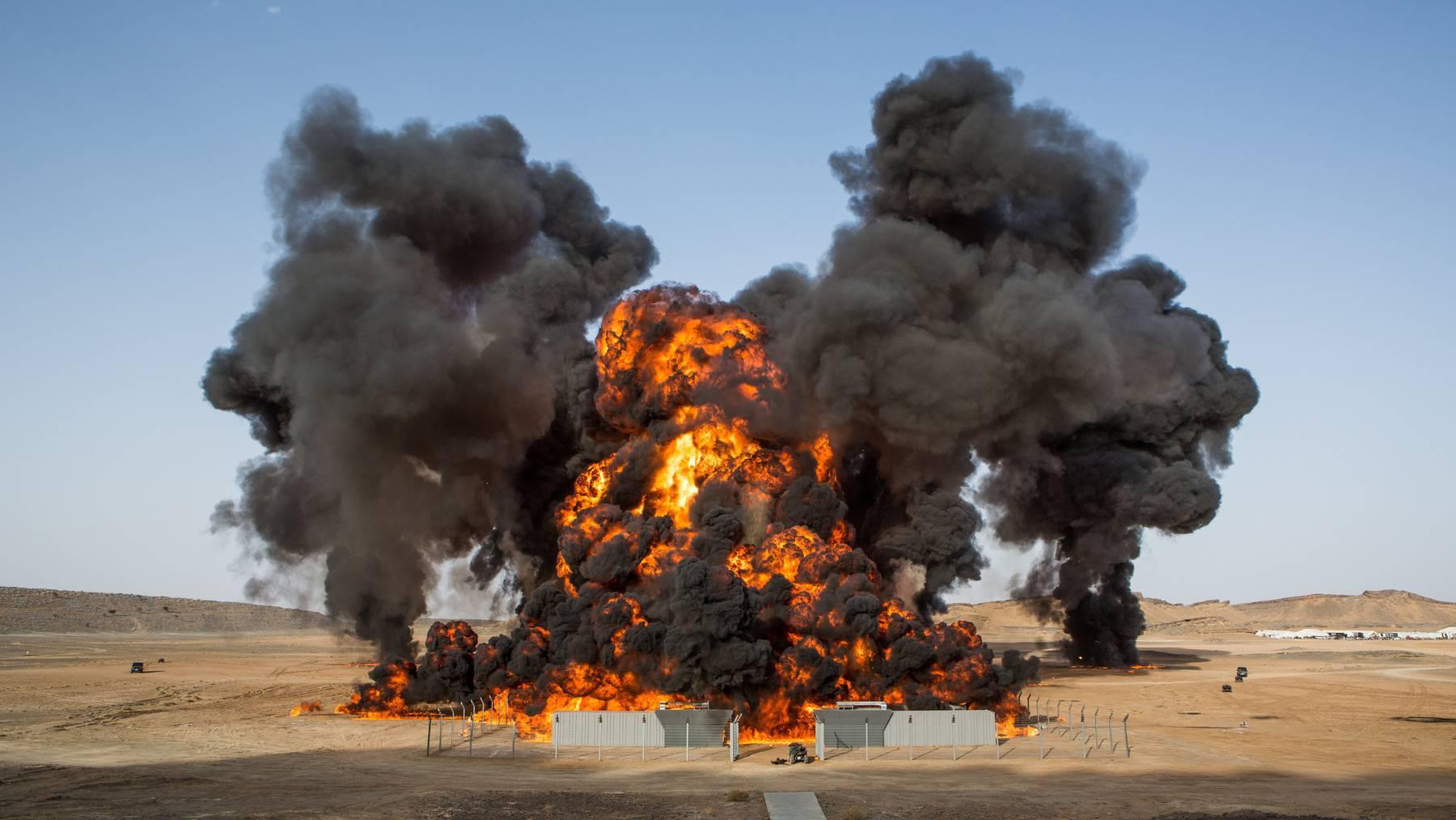 Spectre bietet die grösse Filmstunt-Explosion in der Geschichte.