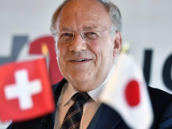 ...  Johann Schneider-Ammann und...