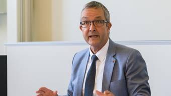 «Nicht getäuscht, aber enttäuscht»: SVP-Regierungsrat Thomas Weber.