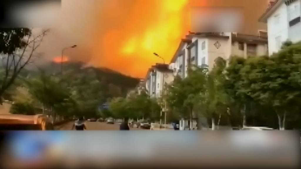 18 Feuerwehrleute sterben bei Waldbrand in China