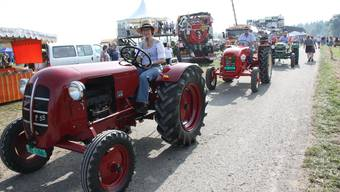 Über 1200 Oldtimer-Traktoren am 9. Oldtimer-Traktorentreffen in Möriken