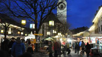 Der Klingnauer Chlausmarkt ist in der Region beliebt.