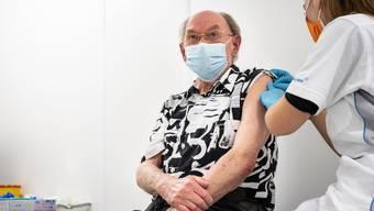In Frauenfeld werden seit gut einer Woche Personen gegen Corona geimpft.