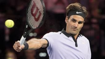 Gibt voraussichtlich am Mittwoch nach über zweimonatiger Pause sein Comeback: Roger Federer