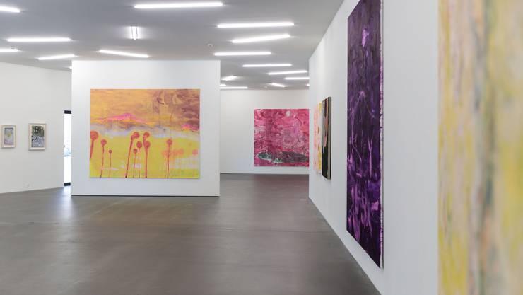 Im Kunsthaus Grenchen wären derzeit auch Werke von Rebekka Steiger zu sehen.