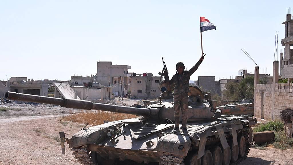 Syrien schickt Truppen in den Norden