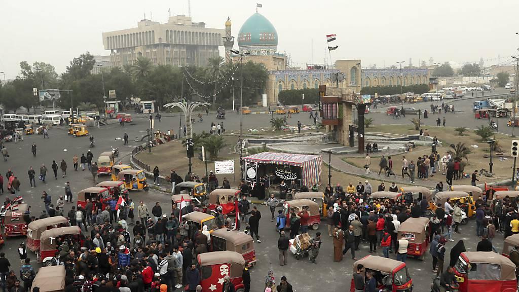Tausende protestieren im Irak nach Angriff auf Demonstranten