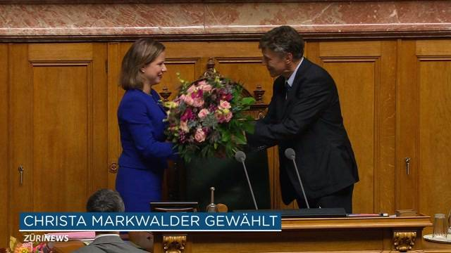 Markwalder höchste Schweizerin