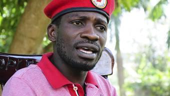 Bobi Wine, Popstar und prominentester Kritiker von Ugandas Langzeit-Staatschef Yoweri Museveni, will bei den nächsten Präsidentschaftswahlen im Jahr 2021 antreten. (Archivbild)