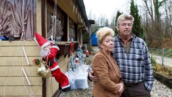 Das Mobilheim von Gabriela und Charles Huber wird nach Neujahr demontiert.