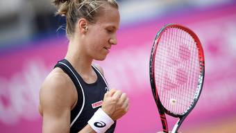 Viktorija Golubic steht in Hua Hin in den Viertelfinals