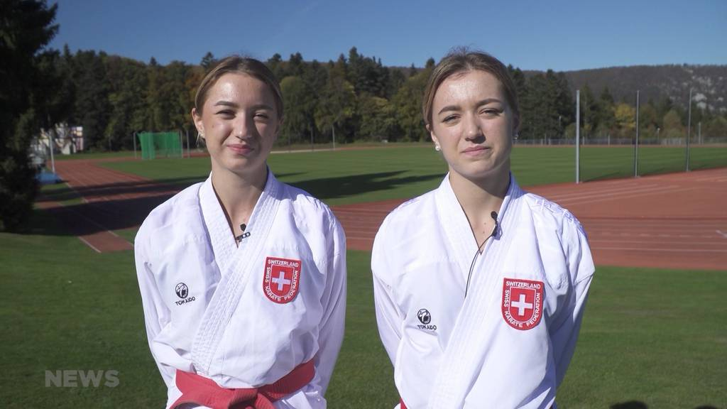 17-jährige Karate-Zwillinge an Junioren-WM in Chile