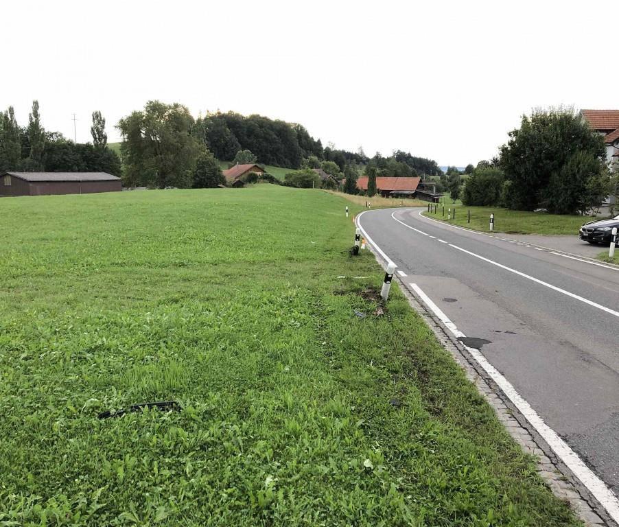 Unfall Waldkirch (© Kapo SG)