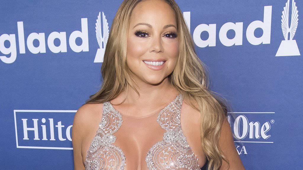 Mariah Carey in Weihnachtsstimmung: Die Sängerin hat im neusten «Carpool-Karaoke»-Clip mal wieder ihren Festtagshit «All I Want for Christmas» gesungen. (Archivbild)