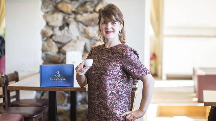 Nathalie Manac'h, CEO von Nat Coffee.