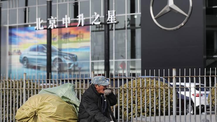 Ausländische Firmen in China beklagen, dass das Reich der Mitte auf dem Wirtschaftsgebiet nicht mit gleichlangen Spiessen mit westlichen Ländern kämpft. (Symbolbild)