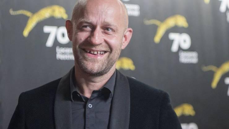 """Jürgen Vogel, Hauptdarsteller in """"Iceman"""", hat es sich nicht nehmen lassen, seinen Film in Locarno vorzustellen."""