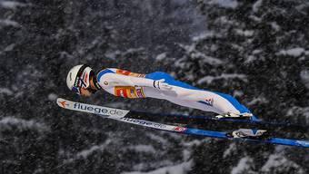 Halvor Egner Granerud aus Norwegen hinterliess auch in den ersten Sprüngen in Oberstdorf einen bestechenden Eindruck.
