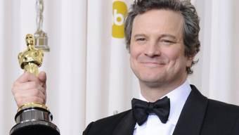 Colin Firth 2011 mit seinem Oscar