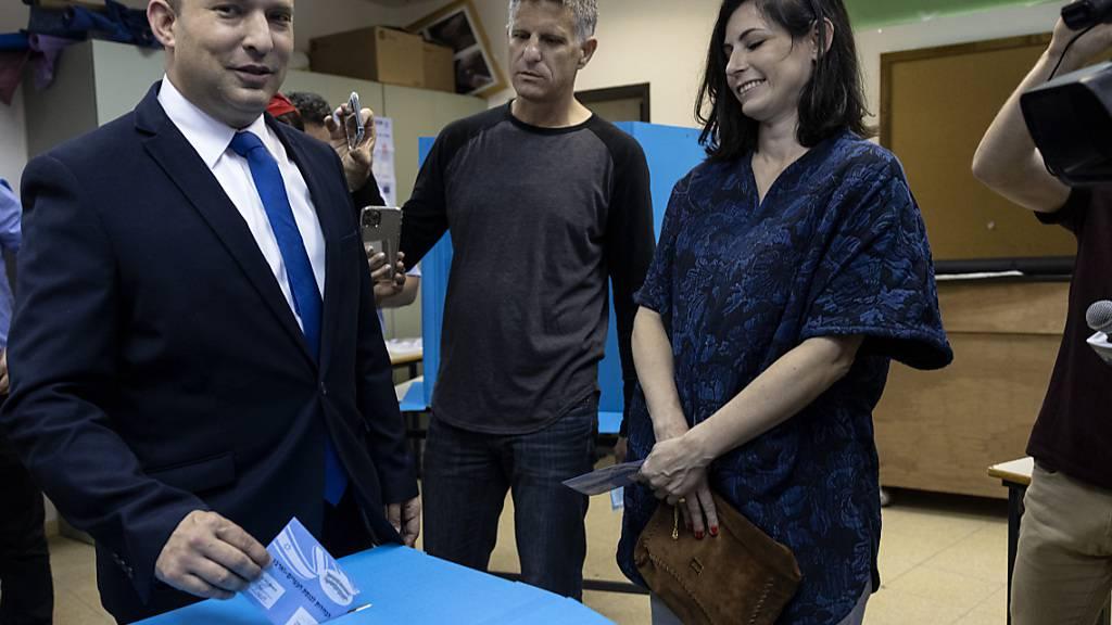 Koalition der Gegner Netanjahus in Israel erwartet