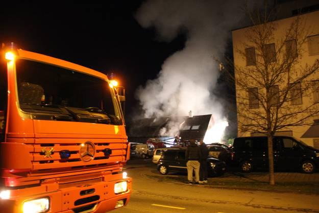 Beim Brandausbruch war niemand zuhause.