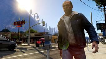 Trevor, der Psychopath, ist eine von drei spielbaren Figuren: In bester Actionmanier lässt er alles in die Luft gehen.HO