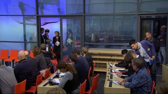 Eveline Widmer-Schlumpf tritt ab: Die Medienkonferenz in voller Länge.