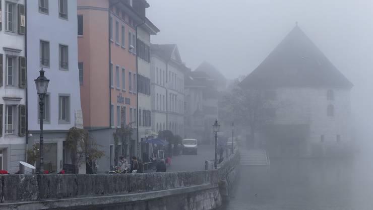 In Solothurn war es oft neblig im November. (Archivbild)