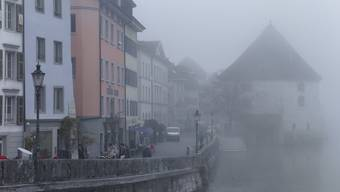 In Solothurn war es oft neblig im November. (Archivbild)