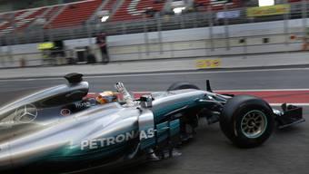 Die Jagd auf Mercedes – insbesondere auf Lewis Hamilton – ist eröffnet.