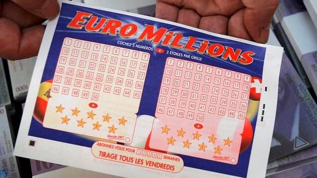 Kreuze zum Glück: Euro Millions-Schein