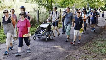 Leserwandern, 13. Etappe: Von Basel nach Oberwil BL