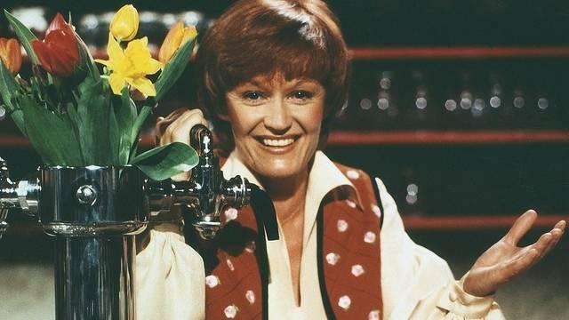 Die gebürtige Zugerin Rosmarie Pfluger war 1970 zum Fernsehen gekommen (Archiv)
