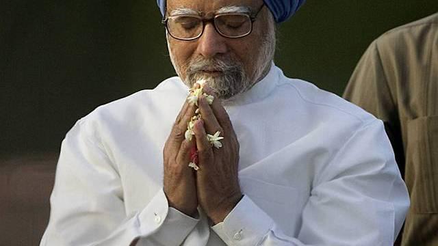 Indiens Premierminister Manmohan Singh