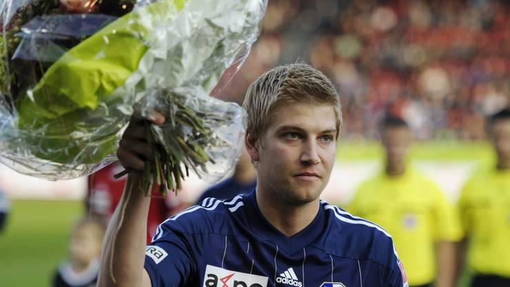 Florian Stahel steht neu bei Wohlen unter Vertrag.