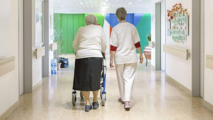 Das Pflegezentrum des Spitals Limmattal muss totalsaniert werden – die Trägergemeinden dürfen sich davor zu ihren Bedürfnissen äussern. zvg