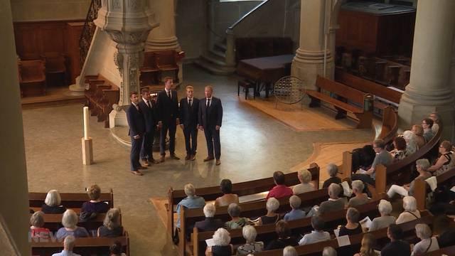 Royaler Chor singt Michael Jackson in Bern