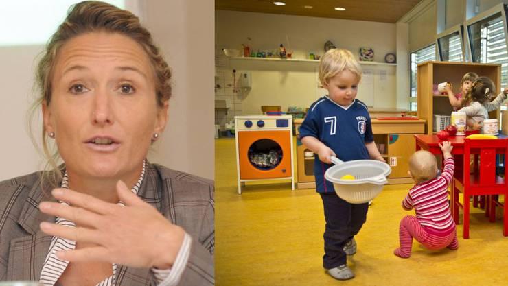 Nachdem die Vorlage zur Kinderbetreuung im Grossen Rat mit vereinten Kräften der SP und SVP zurückgewiesen wurde, ist nun Regierungsrätin Susanne Hochuli gefordert.