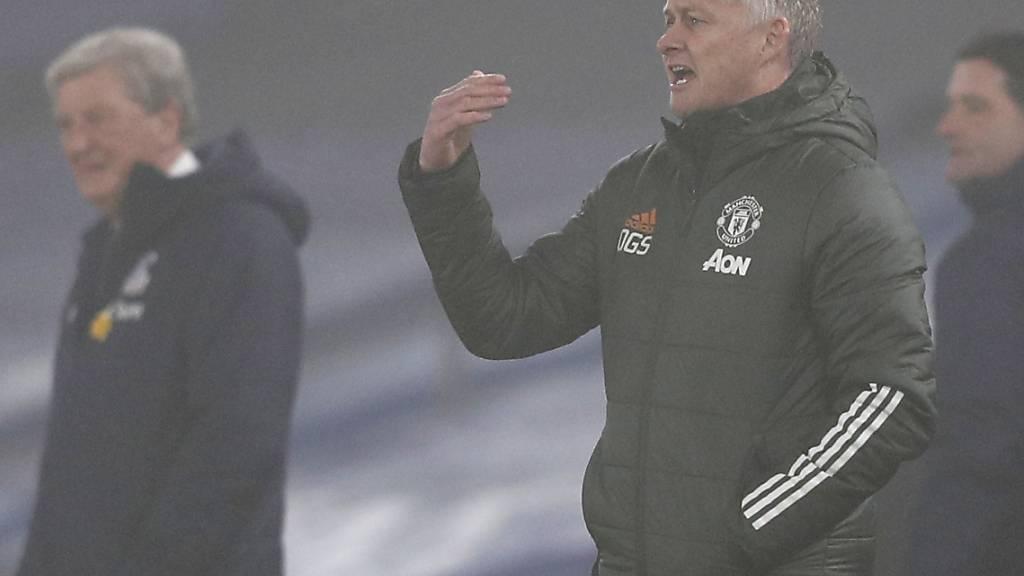 Im Londoner Nebel sieht Ole Gunnar Solskjaer kein Tor seiner United aus Manchester