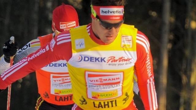 Dario Cologna wurde als Weltcup-Leader entthront.