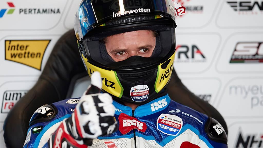 Tom Lüthi läuft es auch im Qualifying von Silverstone nicht wunschgemäss