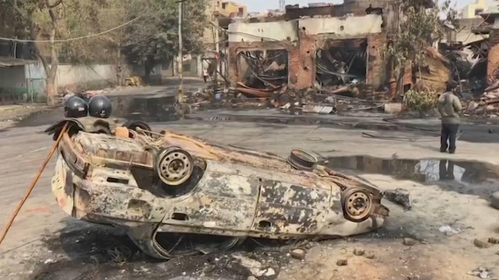 Indien: 20 Tote bei massiven Ausschreitungen in Neu Delhi
