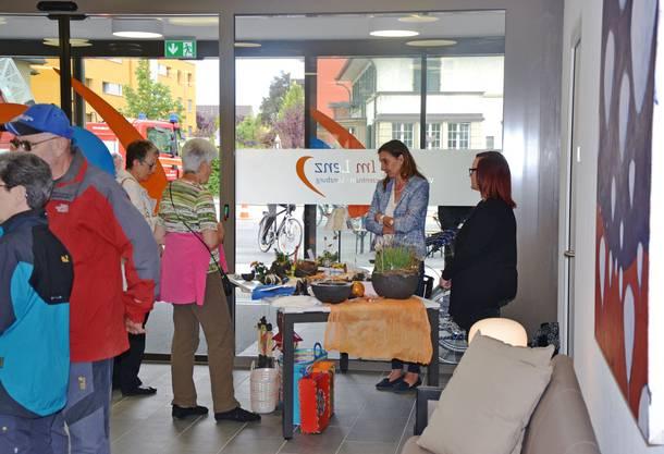 Grosser Besucherandrang im neuen Wohn- und Pflegezentrum.