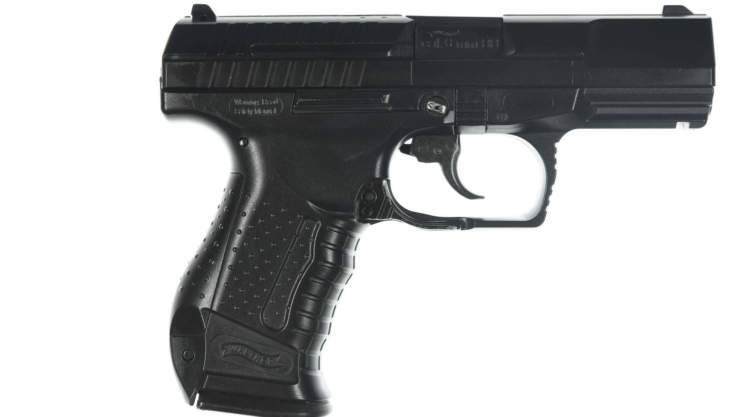 Waffe Mit D
