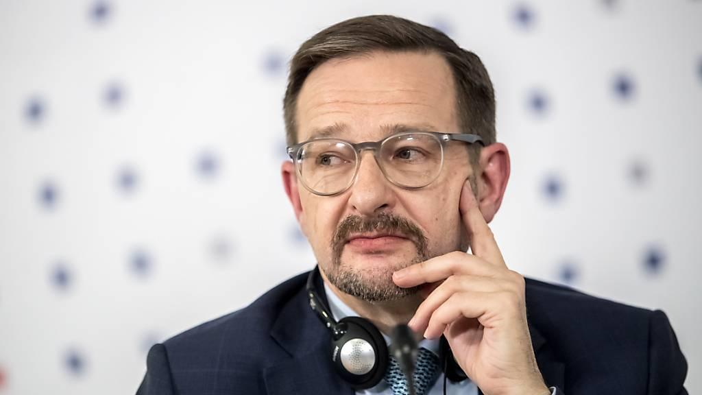 Der Generalsekretär der OSZE, Thomas Greminger, ist ab Sonntag nicht mehr im Amt. Die OSZE hat sein Mandat nicht verlängert. Dies als Folge von Machtspielen innerhalb der Organisation. (Archivbild)